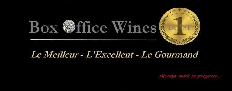 image contient BOX OFFICE WINES LE MEILLEUR L'EXCELLENT LE GOURMAND BEST MARKET PLACE